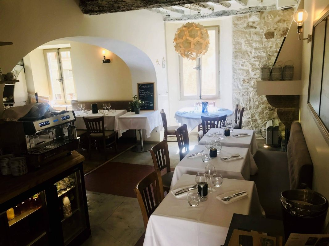 Salon de thé - La Fontaine - Restaurant Saint Paul de Vence